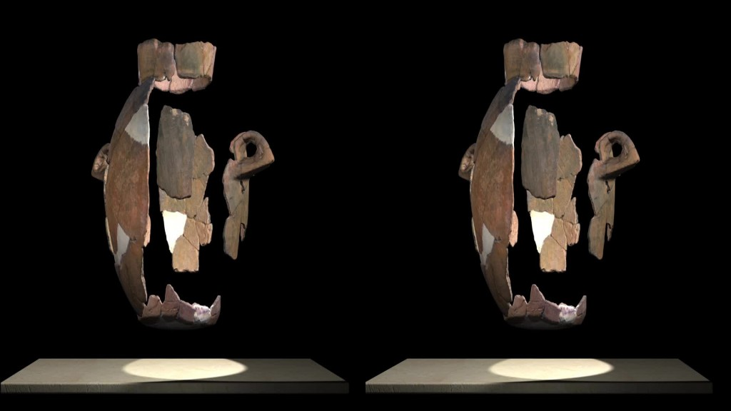 Vase virtual reconstruction